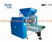 Automatic 4 shaft aluminium foil roll rewinder - PPD-CG450