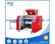 High Speed Fully Auto 3 Turret Stretch Wrap Roll Production Machine - PPD-3SH500